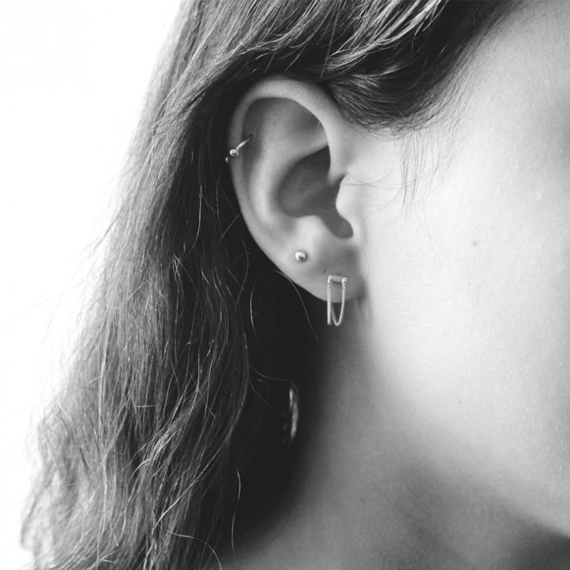 rivet-two-chain-earring-goldplated
