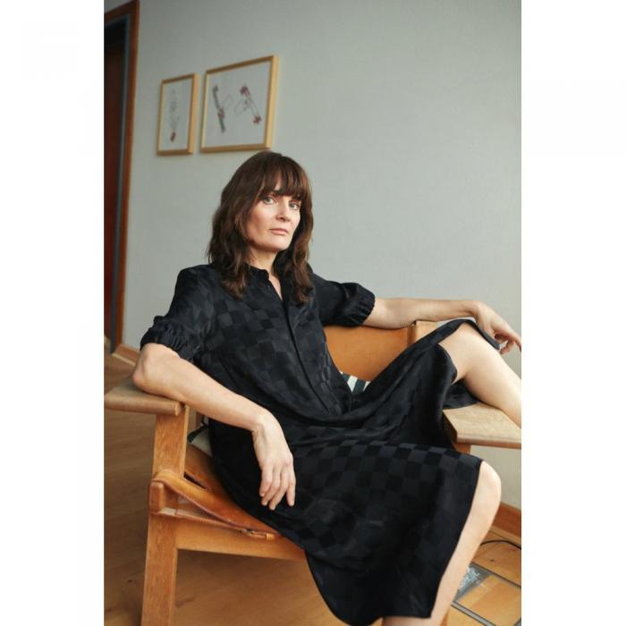 mads norgaard black dress