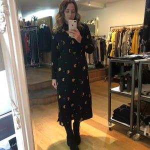 sophie in fabienne chapot dress