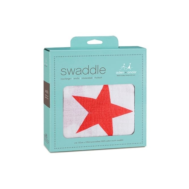 Aden & Anais Radiant Red Classic Swaddle