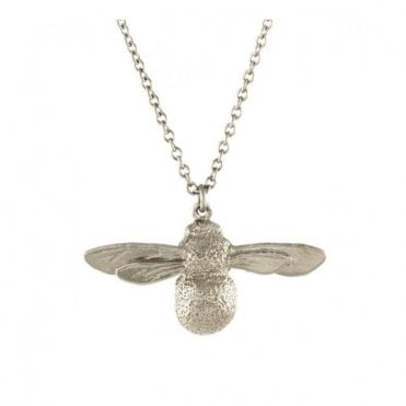 Silver Baby Bee Necklace