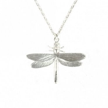 Silver Classic Dragonfly Necklace