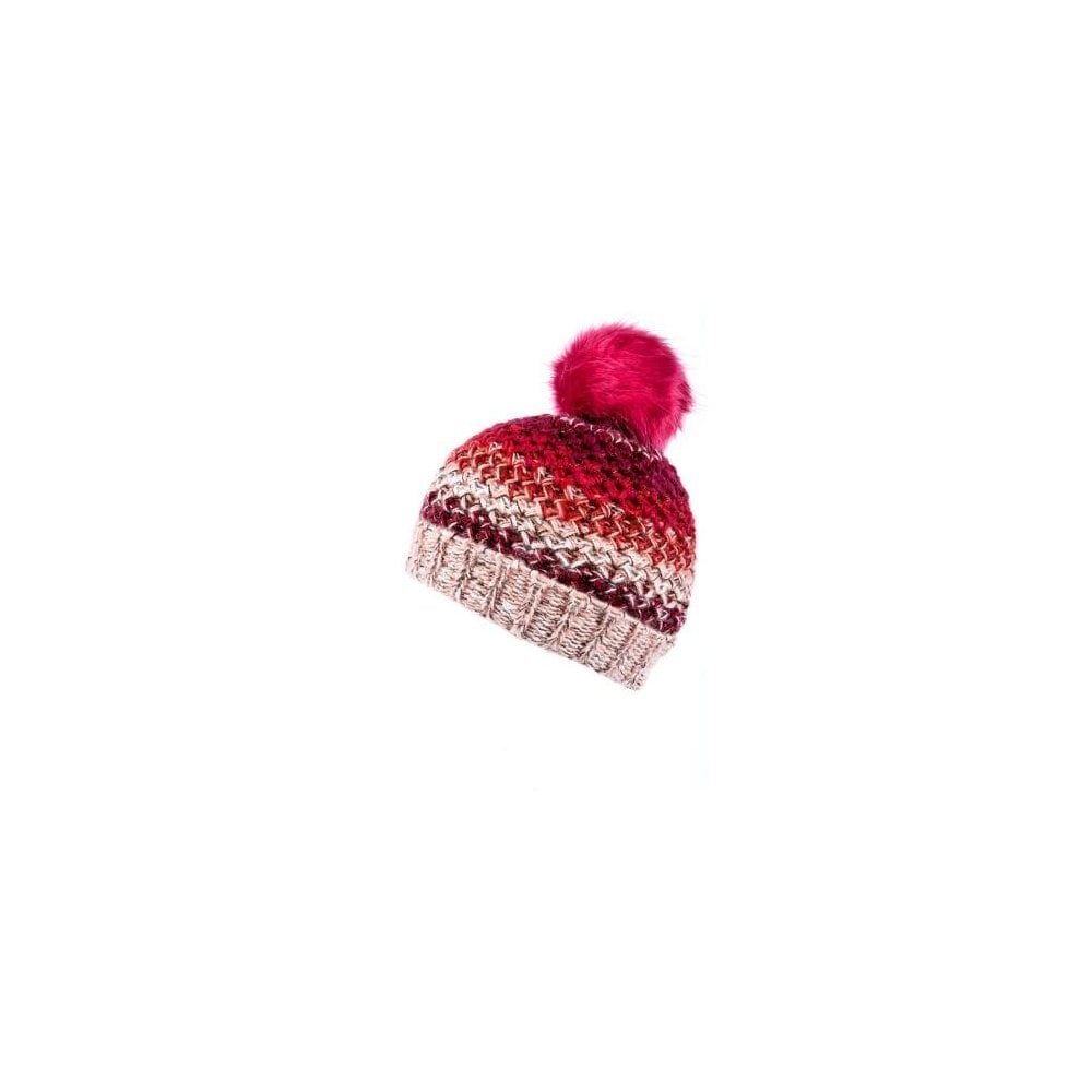 0be3f8ede09 Alice Hannah Essence Ombre Knit Hat With Lurex Yarn