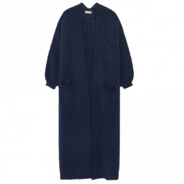 Boolder Long Cardigan in Navy