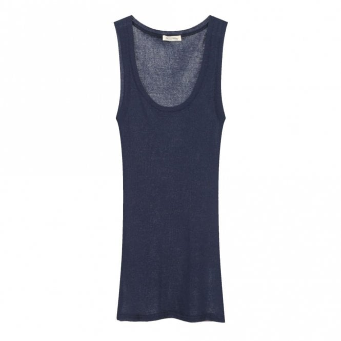 American Vintage Massachusetts Tank in Navy