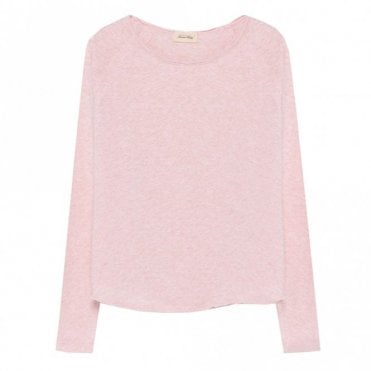 Sonoma Top in Light Pink Melange