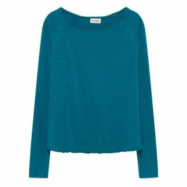 Sonoma Top in Pigeon Blue