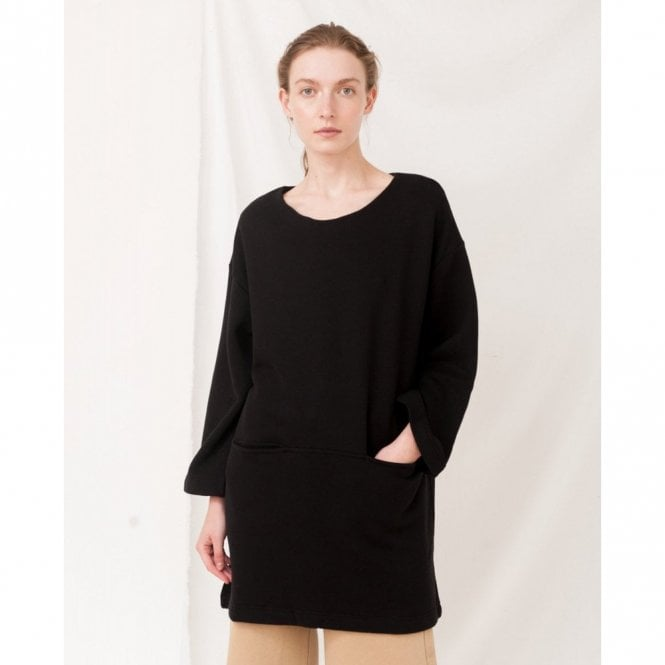 Beaumont Organic Ida Organic Cotton Dress in Black