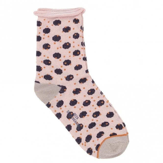 Becksondergaard Dory Unruly Dot Socks in Black