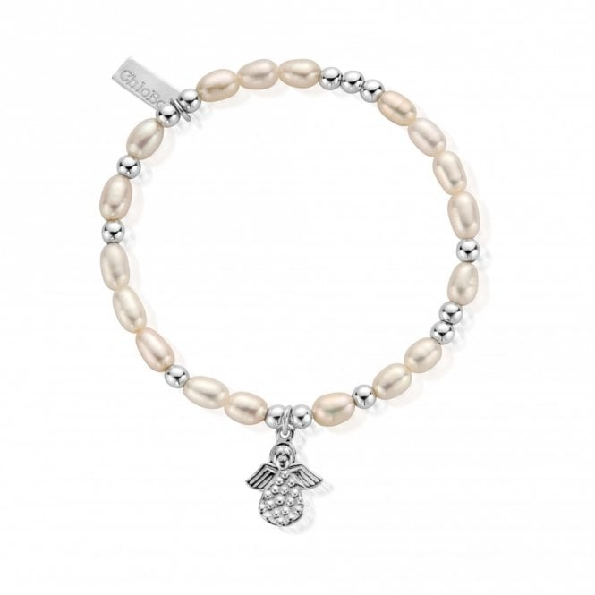 ChloBo Pearl Made For An Angel Mini Bracelet