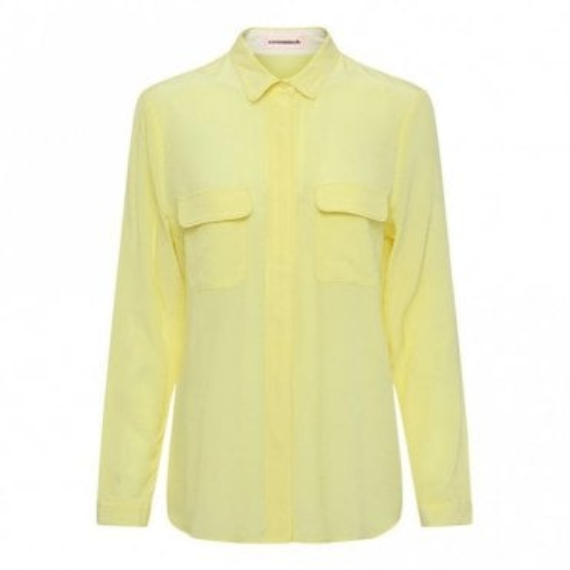 Athalie Silk Shirt in Limelight