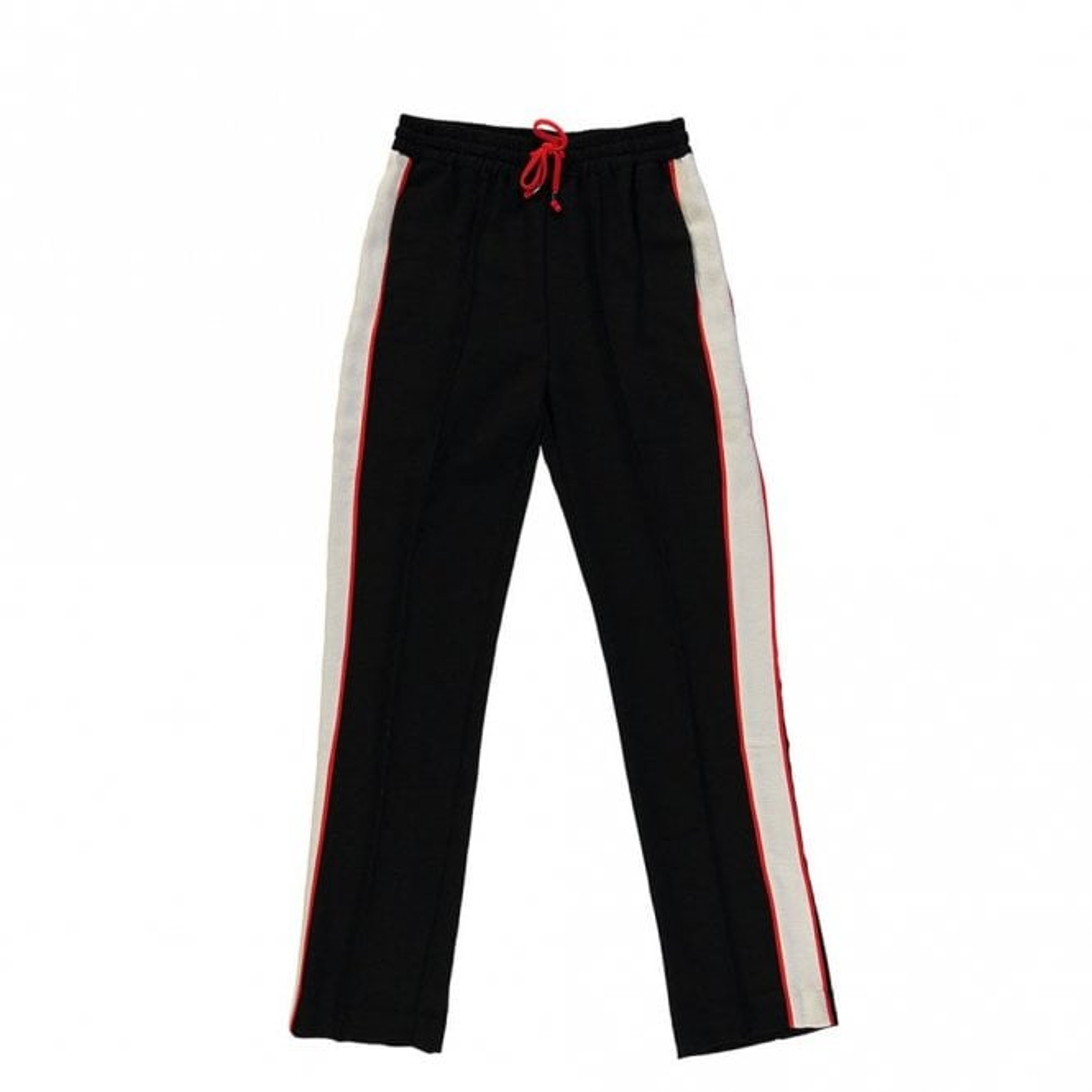 Essentiel Antwerp Rumily Wide Leg Stripe Pants in Black