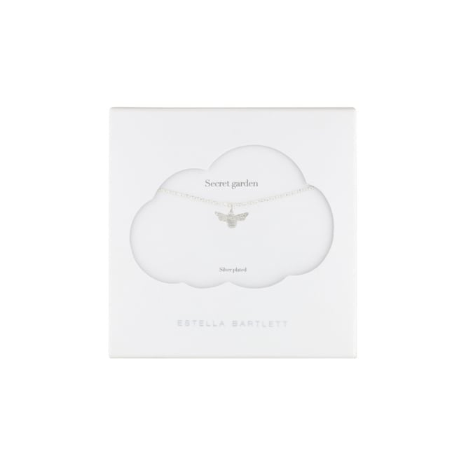 Estella Bartlett Bumblebee Silver Plated Necklace