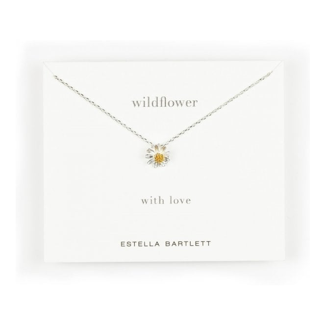 Estella Bartlett Wildflower Gold and Silver Plated Necklace