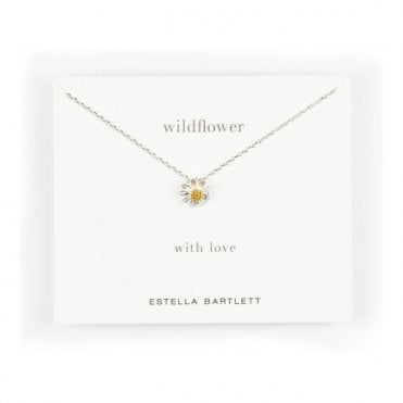 Wildflower Gold and Silver Plated Necklace