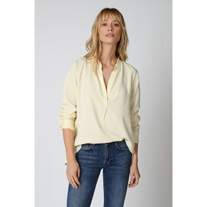 Bounty Blouse in Craie