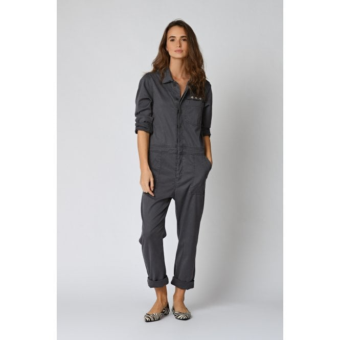 Esther Jumpsuit in Carbon