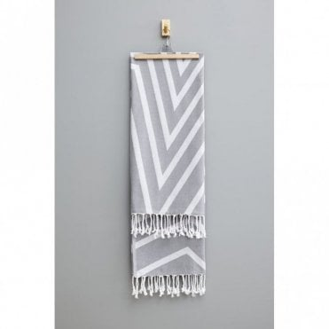 Alya Towel - Smoke Grey