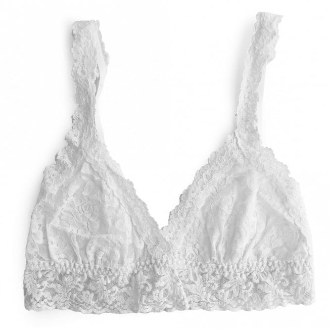 Hanky Panky Signature Lace Bralette - White