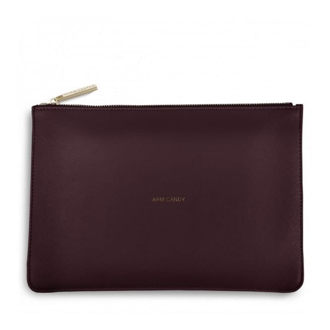 Katie Loxton Perfect Pouch - Arm Candy in Burgundy
