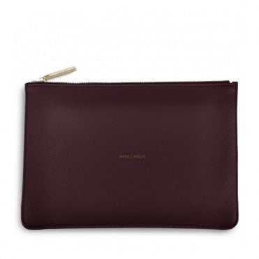 Perfect Pouch - Arm Candy in Burgundy