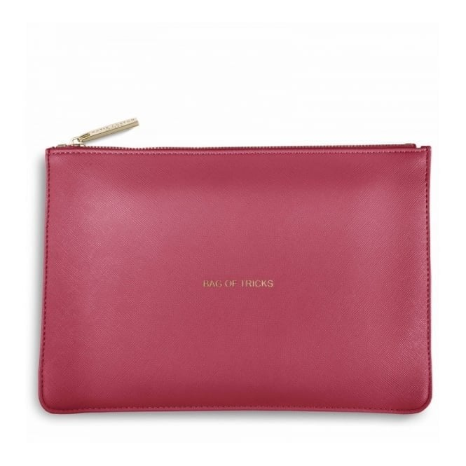 Katie Loxton Perfect Pouch - Bag of Tricks in Deep Pink