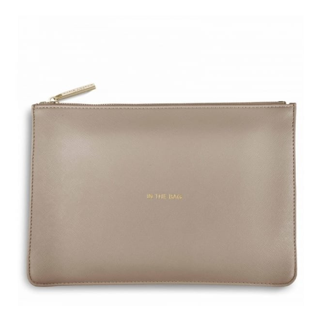 Katie Loxton Perfect Pouch - In the Bag in Grey