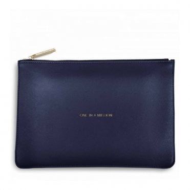 Perfect Pouch - One in a Million in Navy