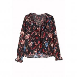 Lily and Lionel Joni Top in Botanical Star Print