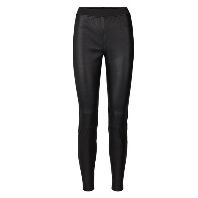 Lollys Laundry Sally Leather Pants in Black