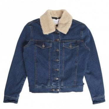 Mountain Denim Jacket in LAmour