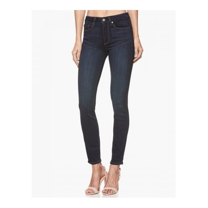 Paige Denim Hoxton Ankle High Rise Skinny Jeans in Hartmann