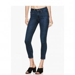 Paige Denim Hoxton Crop High Rise Ultra Skinny Jeans in Grand View