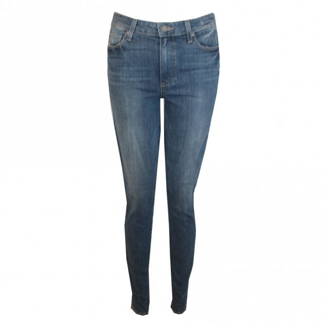 Paige Denim Hoxton High Rise Ultra Skinny Jeans in Big Sur