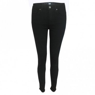 Hoxton High Rise Ultra Skinny Jeans in Black Shadow
