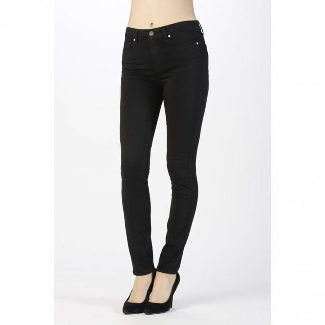ac62d8dcca6 Paige Hoxton Ultra Skinny Jeans in Black Shadow   Paige Denim