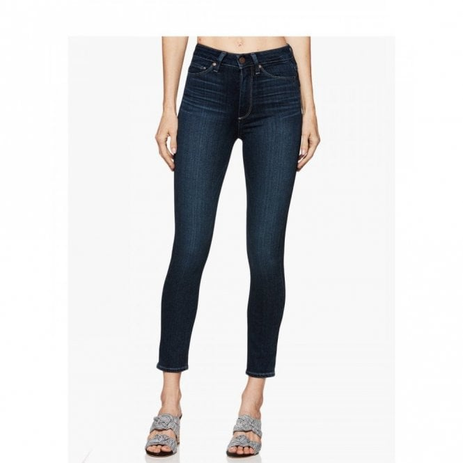 Paige Denim Margot Crop Super High Rise Ultra Skinny in Sawtelle