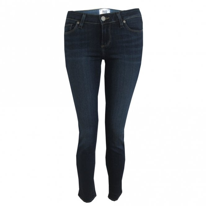 Paige Denim Verdugo Ankle Mid Rise Skinny Jeans in Nottingham