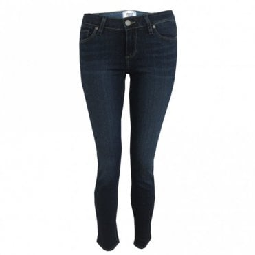 Verdugo Ankle Mid Rise Skinny Jeans in Nottingham