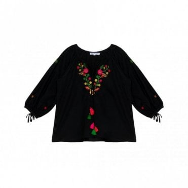 Nomad Frida Top in Black