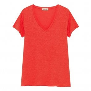 Jacksonville Short Sleeve Tee in Tomato