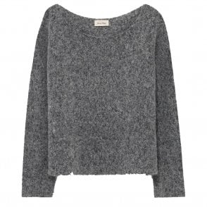 Zapitown Sweater in Grey Melange