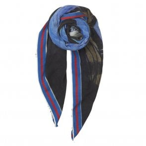 Nero Scarf in Blue Nights