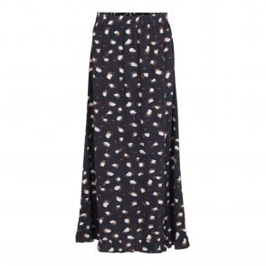 Nani Skirt in Anthracite Black