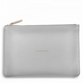 Perfect Pouch - Shine Bright in Pale Grey