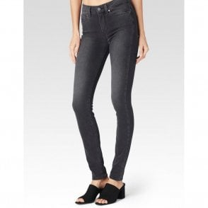 Hoxton High Rise Ultra Skinny Jeans in Smoke Grey