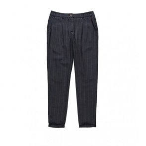 John Trousers in Marine Stripe