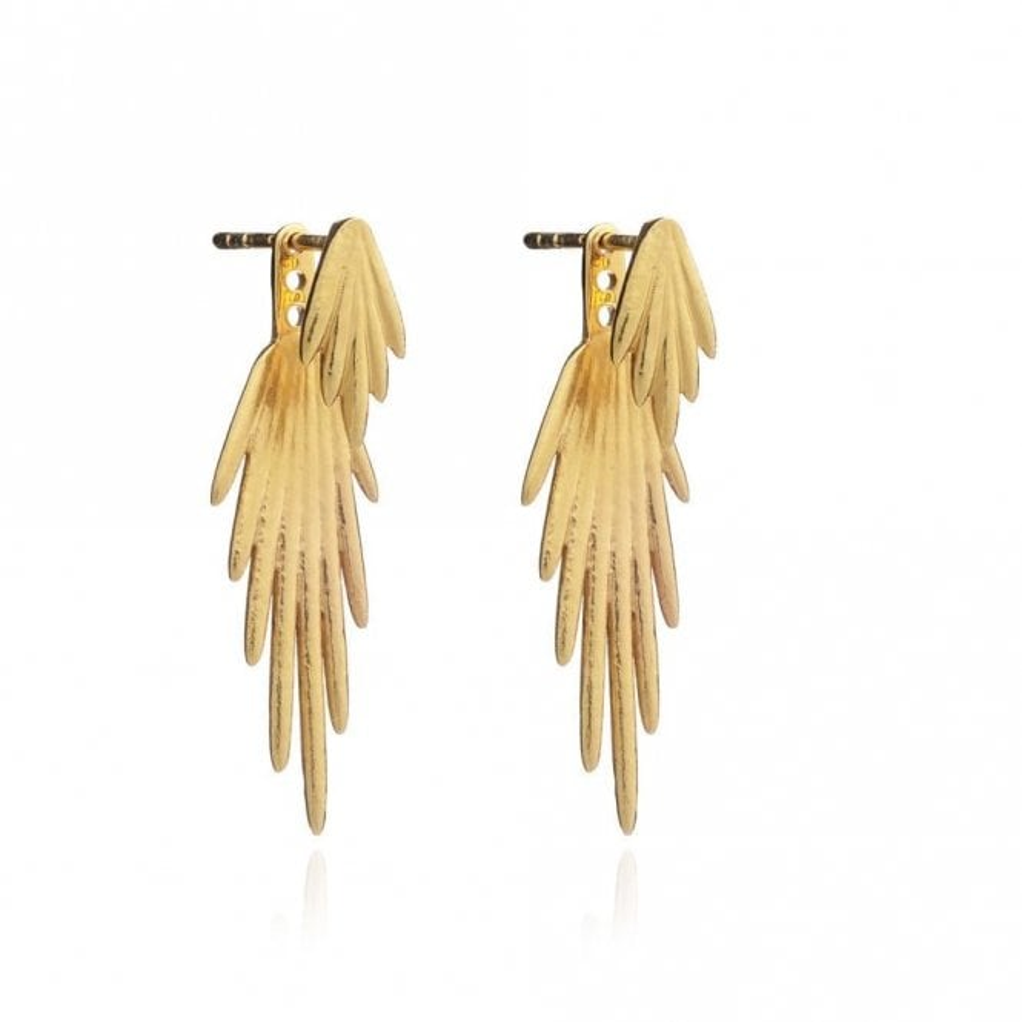 Rachel Jackson London Electric Goddess Earrings in Gold