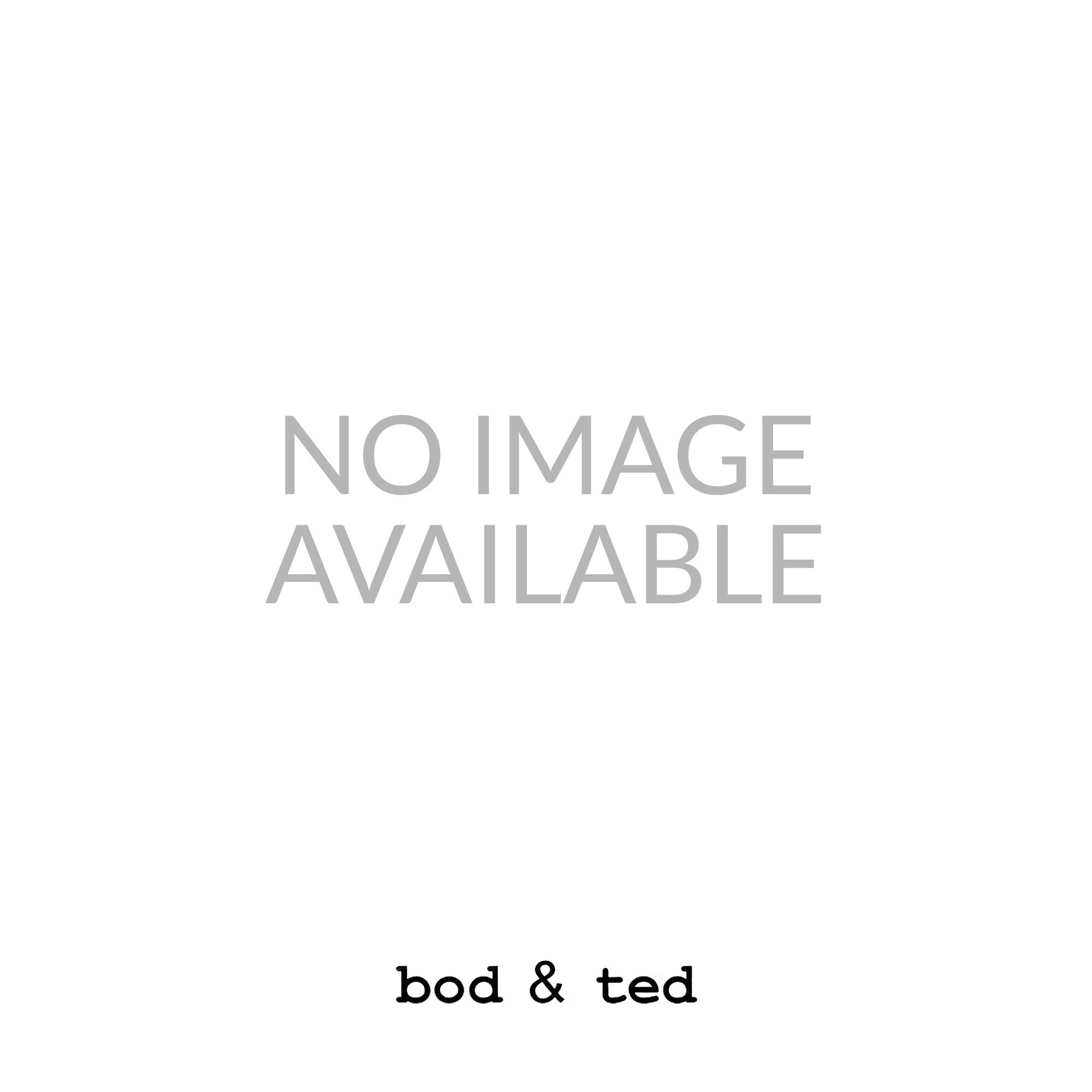 Medium Hexagon Hoop Earrings in Silver