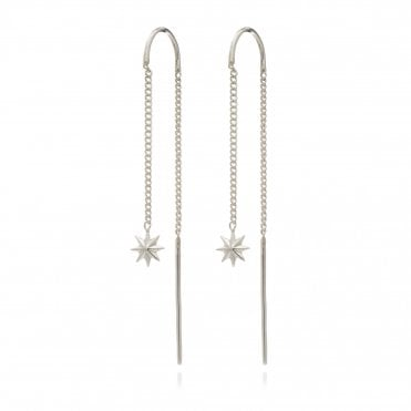 Rock Star Threaders in Sterling Silver